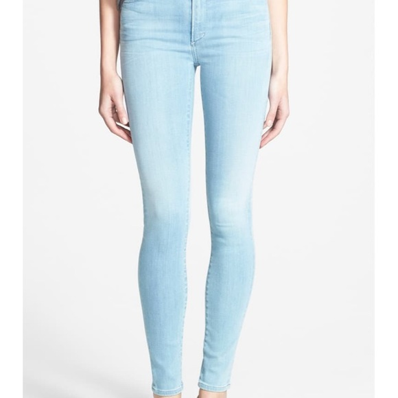 citizens of humanity rocket jeans in dusted light